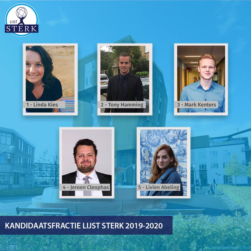 Kandidaatsfractie HMR 2019 - 2020
