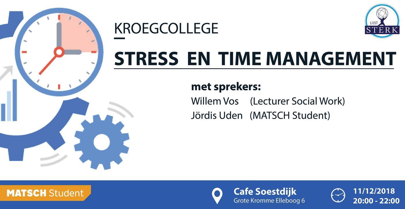 Stress en Time-management
